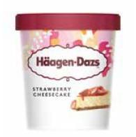 Haagen -Dazs Minicups Strawberry Cheesecake 100ml
