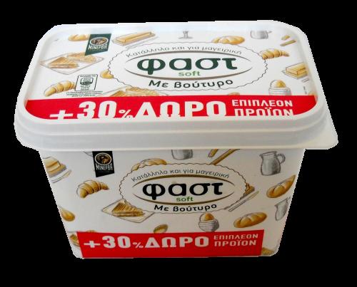 Μινέρβα Fast Soft με Βούτυρο 500gr+30%