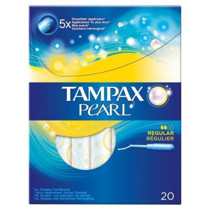 TAMPAX PEARL REGULAR 12X20