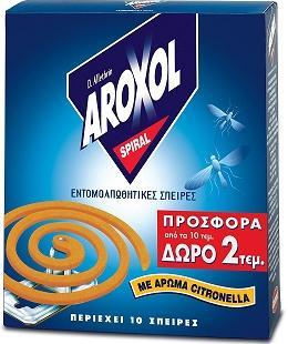 ΕΥΡΗΚΑ AROXOL ΣΠΙΡΑΛ  10+2 ΔΩΡΟ