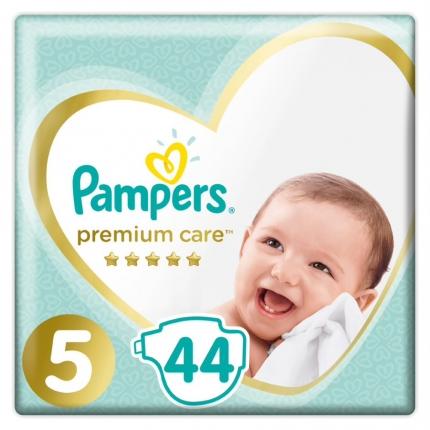 Pampers Premium Care Μέγεθος 5 (11-18kg), 44 Πάνες