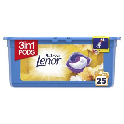 LENOR PODS 3IN1 GOLD ORCHID 25ΤΜΧ