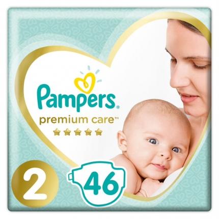 Pampers Premium Care Μέγεθος 2 (4-8kg), 46 Πάνες