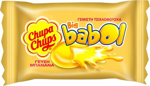 CHUPA CHUPS BIG BABOL MINI ΜΠΑΝΑΝΑ 60