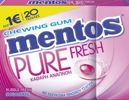 MENTOS P.F. SLIMBOX BUBBLEFRESH (12TMX)