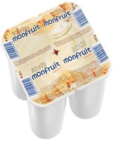 ΓΙΑΟΥΡΤΙ MONFRUIT BANANA 6x(4x125gr)