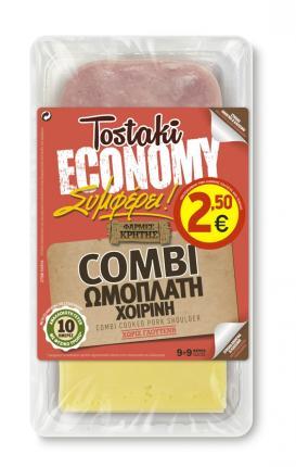 CRETA FARMS TOSTAKI ECONOMY COMBI ΩΜΟΠΛΑΤΗ 360g (Ψ)