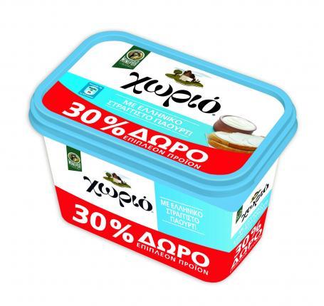 Μινέρβα Μαργαρίνη Χωριό Soft Ελληνικό Γιαούρτι 500gr + 30% Προϊόν Δωρεάν
