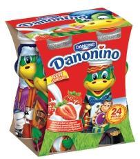 Danone Danonino Drink Φράουλα 4Χ100gr