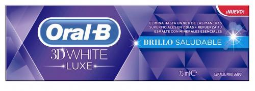 ORAL-B 3D WHITE LUXE HEALTHY SHINE 75 ML