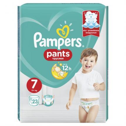 Pampers Pants Μέγεθος 7 (17+kg), 23 Πάνες-βρακάκι