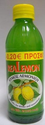REALLEMON 250ML-0.20E---07651004