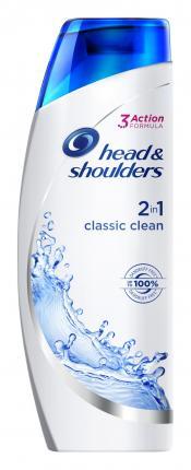 Head & Shoulders Classic Clean 2σε1 Αντιπιτυριδικό Σαμπουάν 225ml